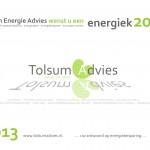 Nieuwjaarswens | Tolsum Energie Advies